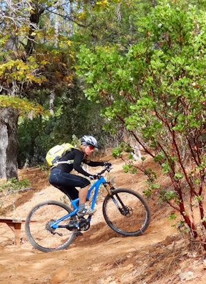 Photo of Cycling at Boggs Mountain Demonstration State Forest