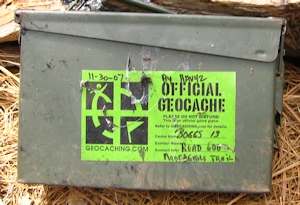 Photo of geocache box