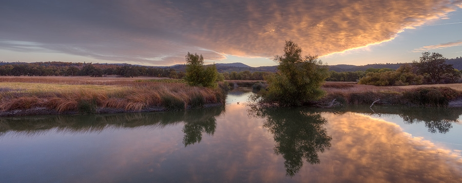 Photo of a serene Anderson Marsh, Lower Lake, CA