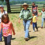 Photo of school children on a field trip at Anderson Marsh State Historic Park