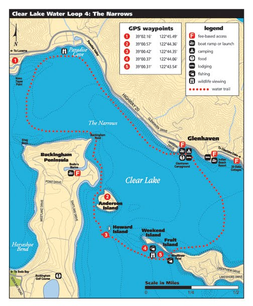 Water Trail Map #4 The Narrows